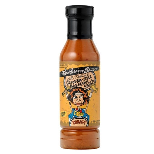 Carolina Style Barbeque Bottle by Torchbearer Sauces