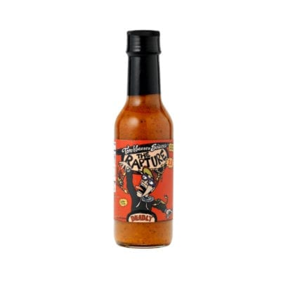 The Rapture Trinidad Scorpion hot sauce by Torchbearer Sauces
